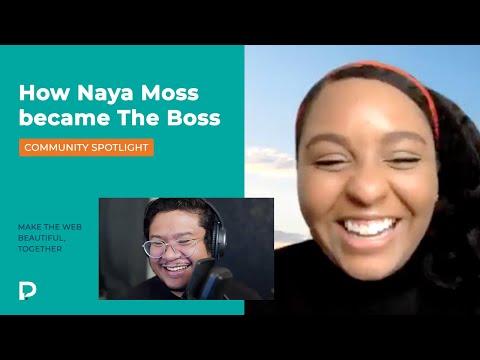 How Naya Moss become The Boss - Pixel Geek Community Spotlight