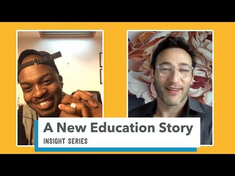 The Difference Between Education & School   Simon Sinek & George the Poet
