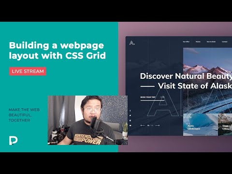Building a webpage layout with CSS Grid