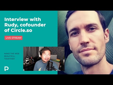 Interview with Rudy, cofounder of Circle.so / Rebuilding the Apple Watch page