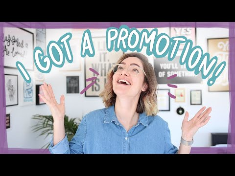 I got promoted to Creative Director!