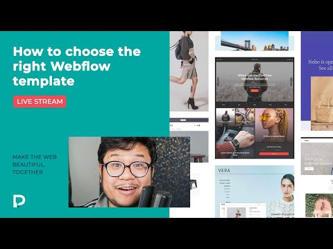 How to choose the right Webflow template (2021)