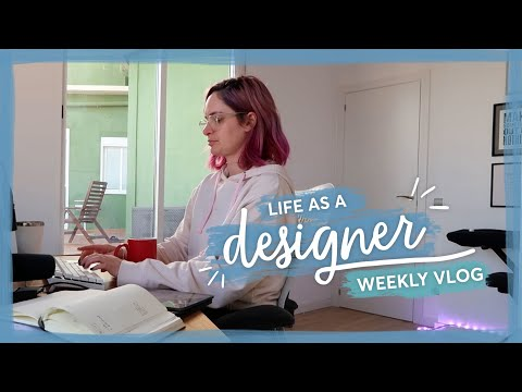 The ups and downs of working on a rebrand | Life as a designer vlog