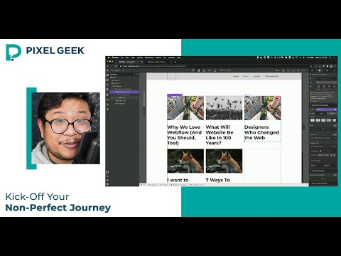 Kick-off your non-perfect journey - Visual Development Course