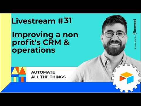Improving a non profit's CRM & operations with Meredith Winner | AATT #31