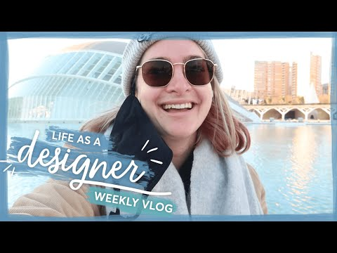 Wellness, Walks & Workdays | Life as a designer vlog