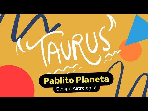 Taurus Designer - Pablito Planeta, Design Astrologist