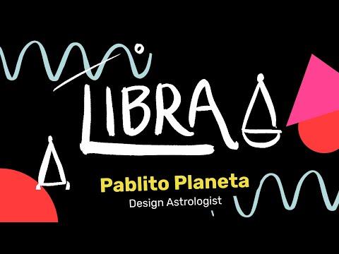 Libra Designer - Pablito Planeta, Design Astrologist