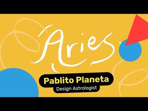Aries Designer - Pablito Planeta, Design Astrologist