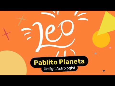 Leo Designer - Pablito Planeta, Design Astrologist