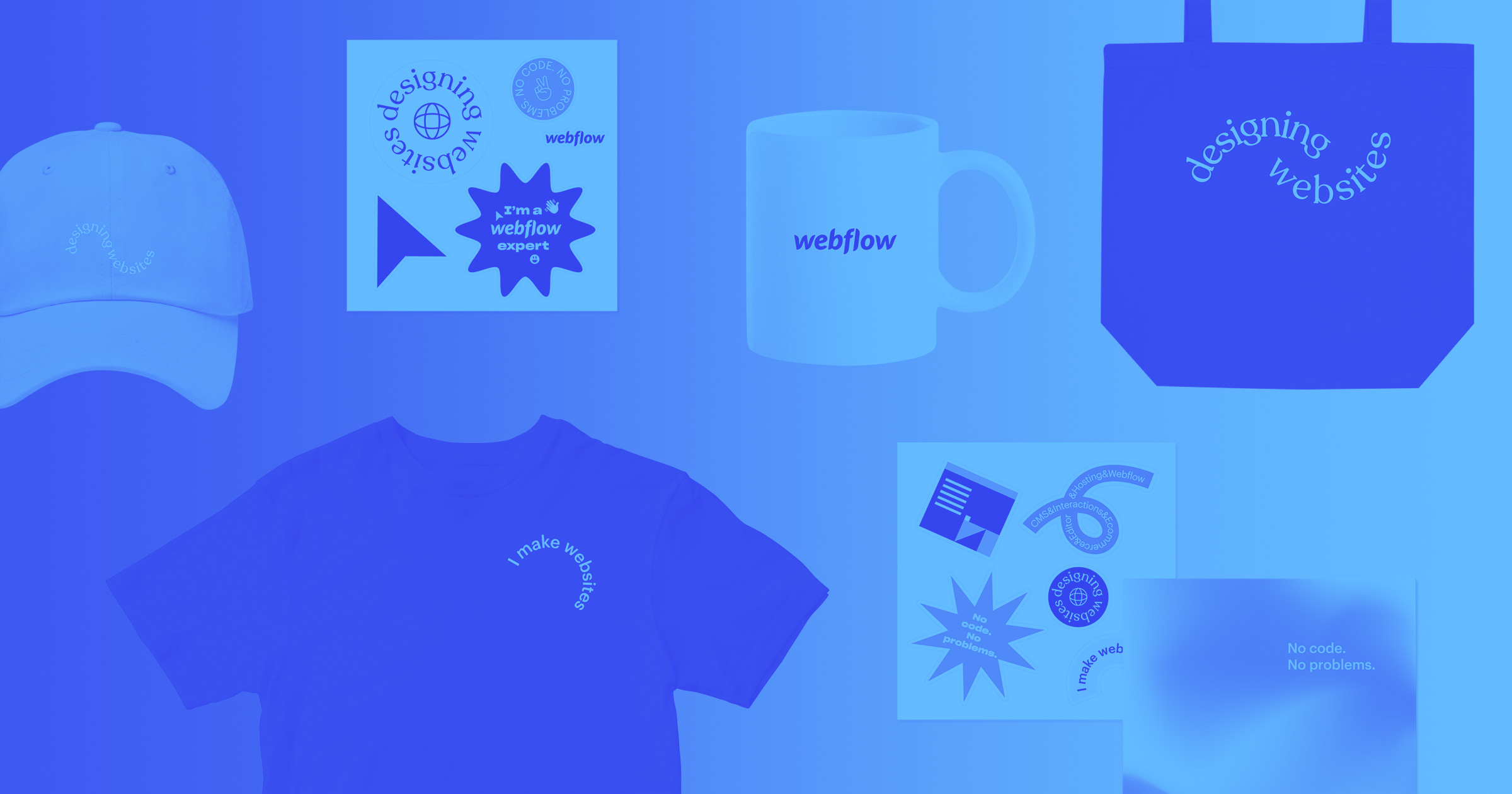 Introducing the Webflow Merch Store