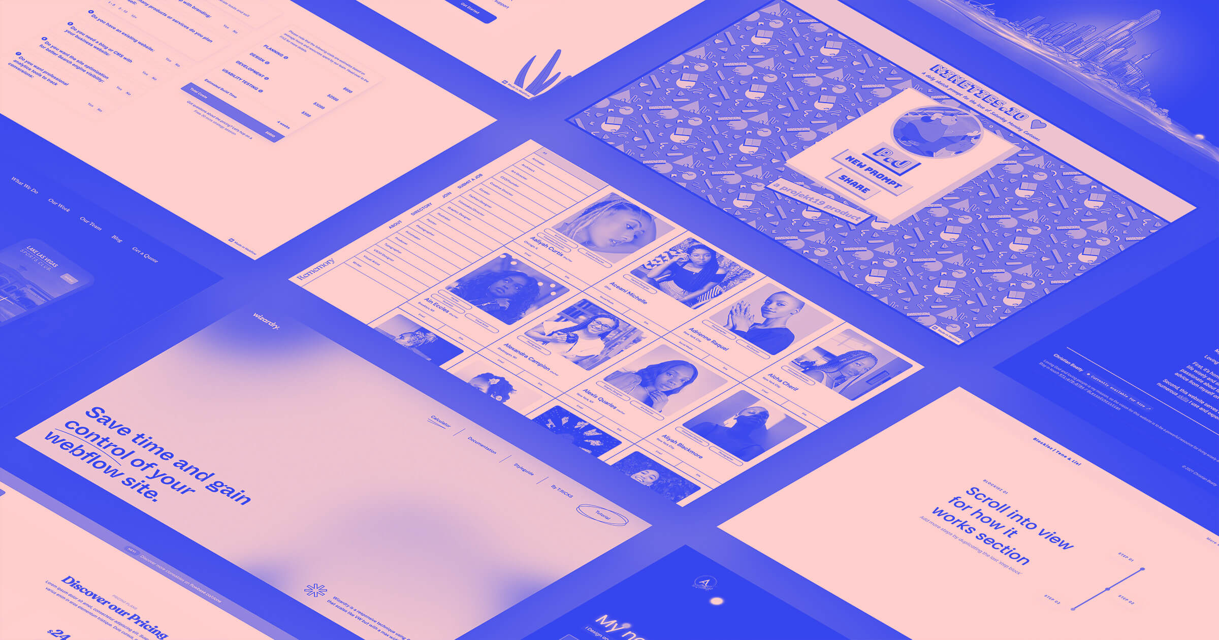 10 featured websites from the Webflow Showcase: January 2021