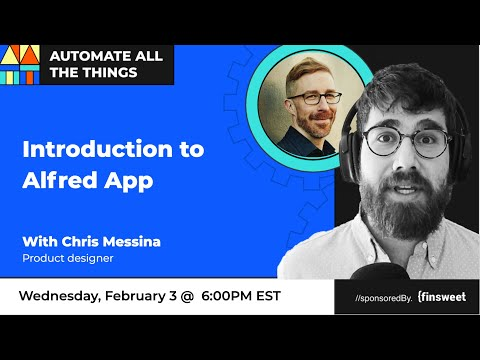 Automating with Alfred App with Chris Messina | AATT #34