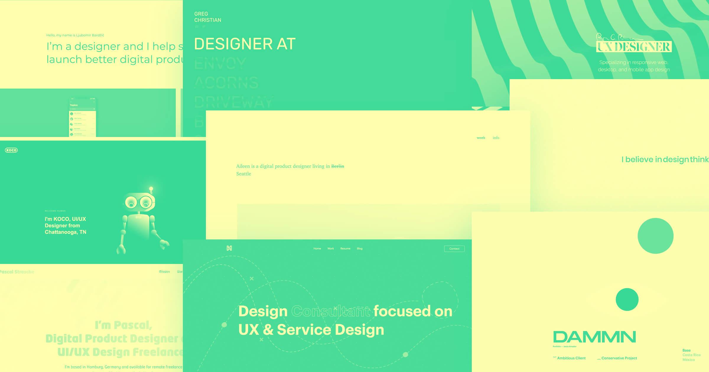 14 inspiring UX designer portfolio examples in 2021