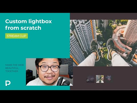 How to make a custom CMS lightbox from scratch in Webflow — Tutorial (2021)