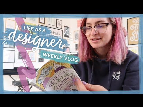 Building a new website & updating the gallery wall!   Life as a designer vlog