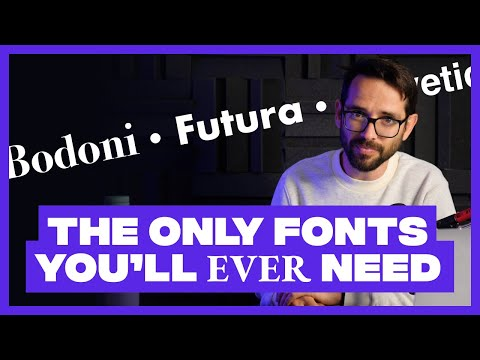 Designers Only Need These 6 Fonts. Trash the Rest.