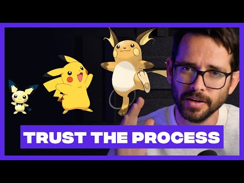 """TRUST THE PROCESS: Trying to """"Be Creative"""" Will Kill You"""