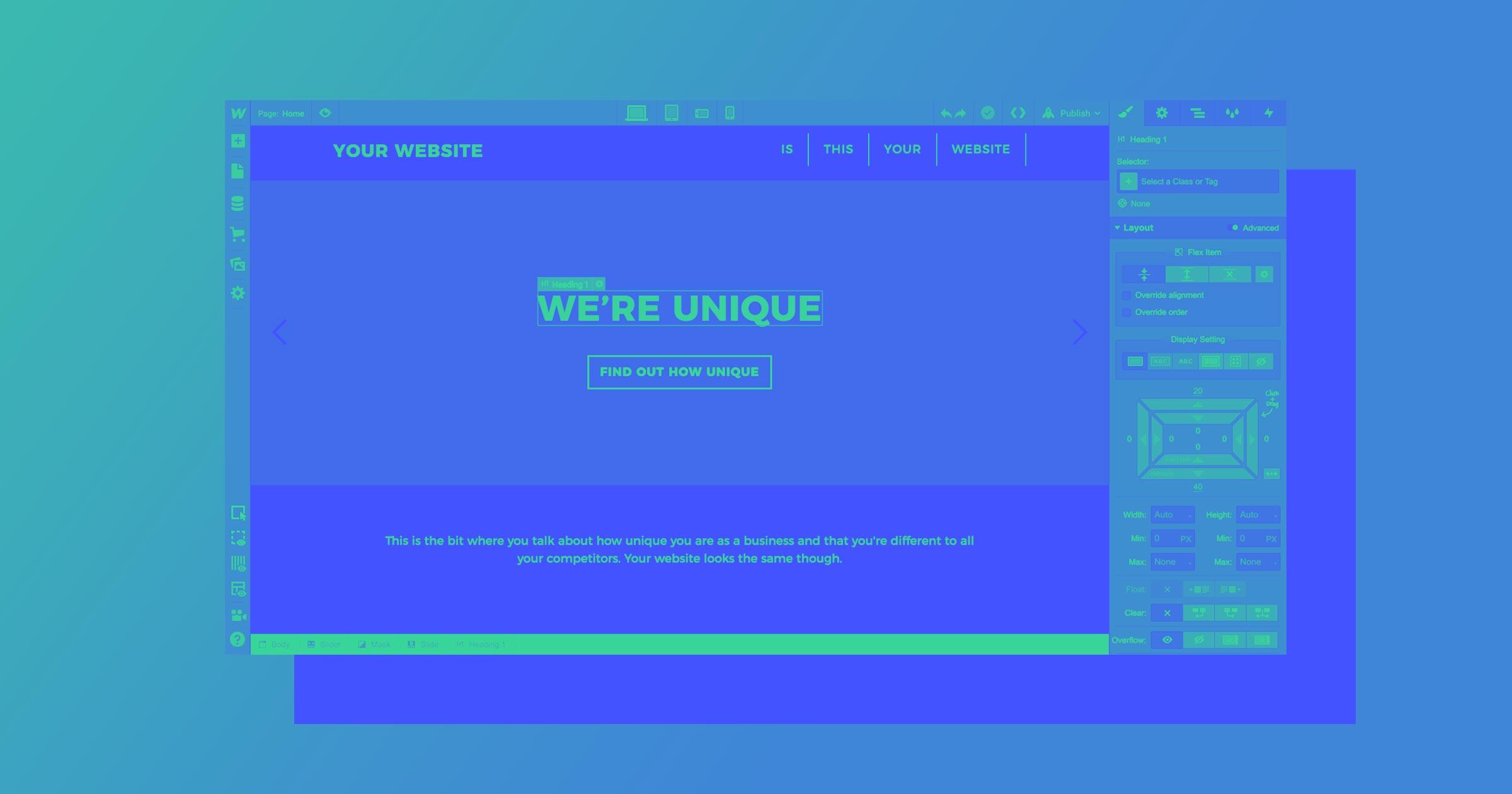 Webflow tutorial: the absolute beginner's guide