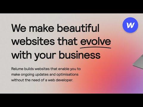 Top 5 Websites Built In WEBFLOW (2021)