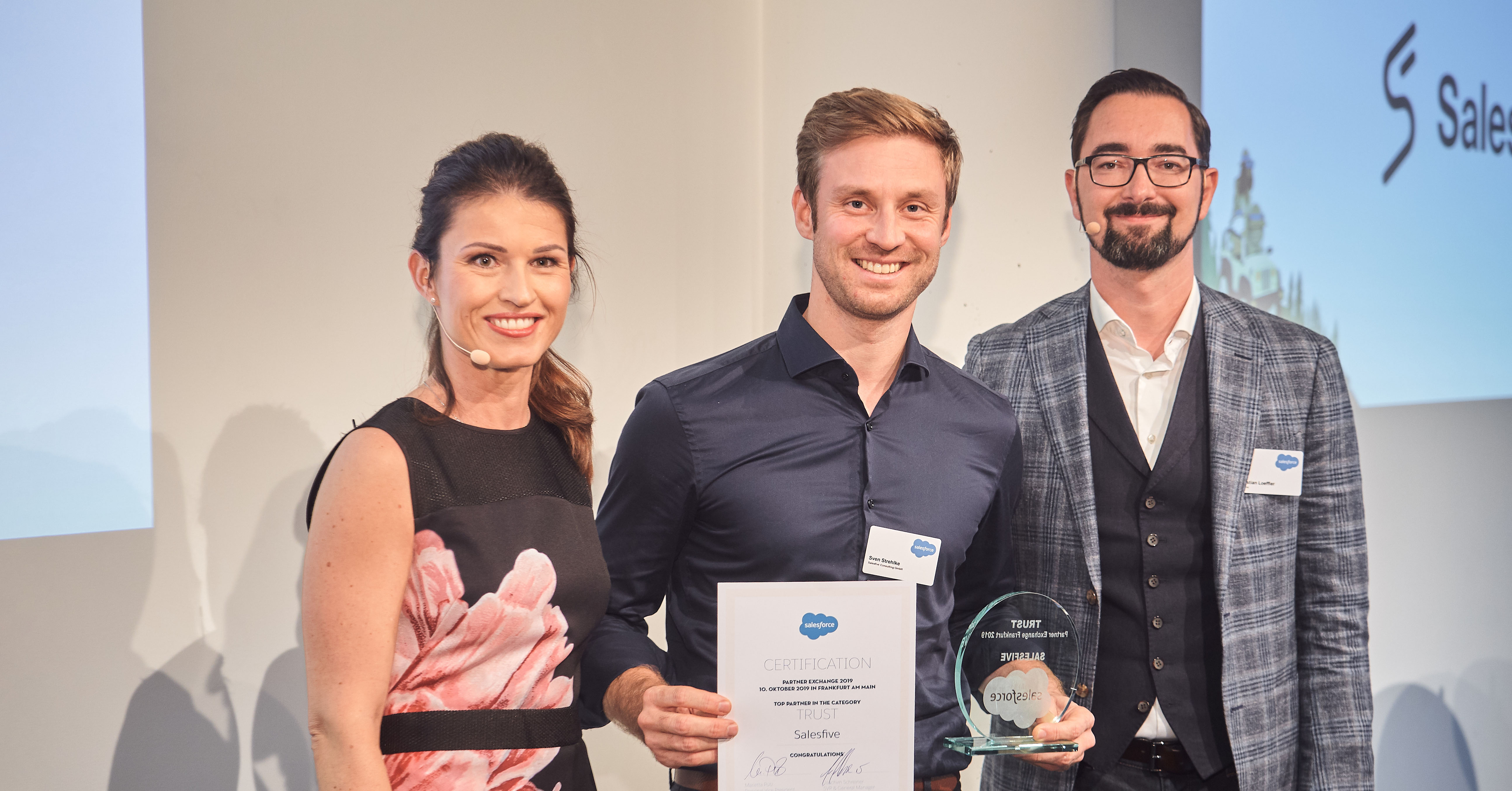 Salesforce Award Verleihung