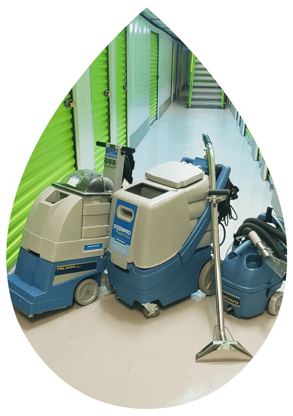 photo of commercial carpet cleaning equipment
