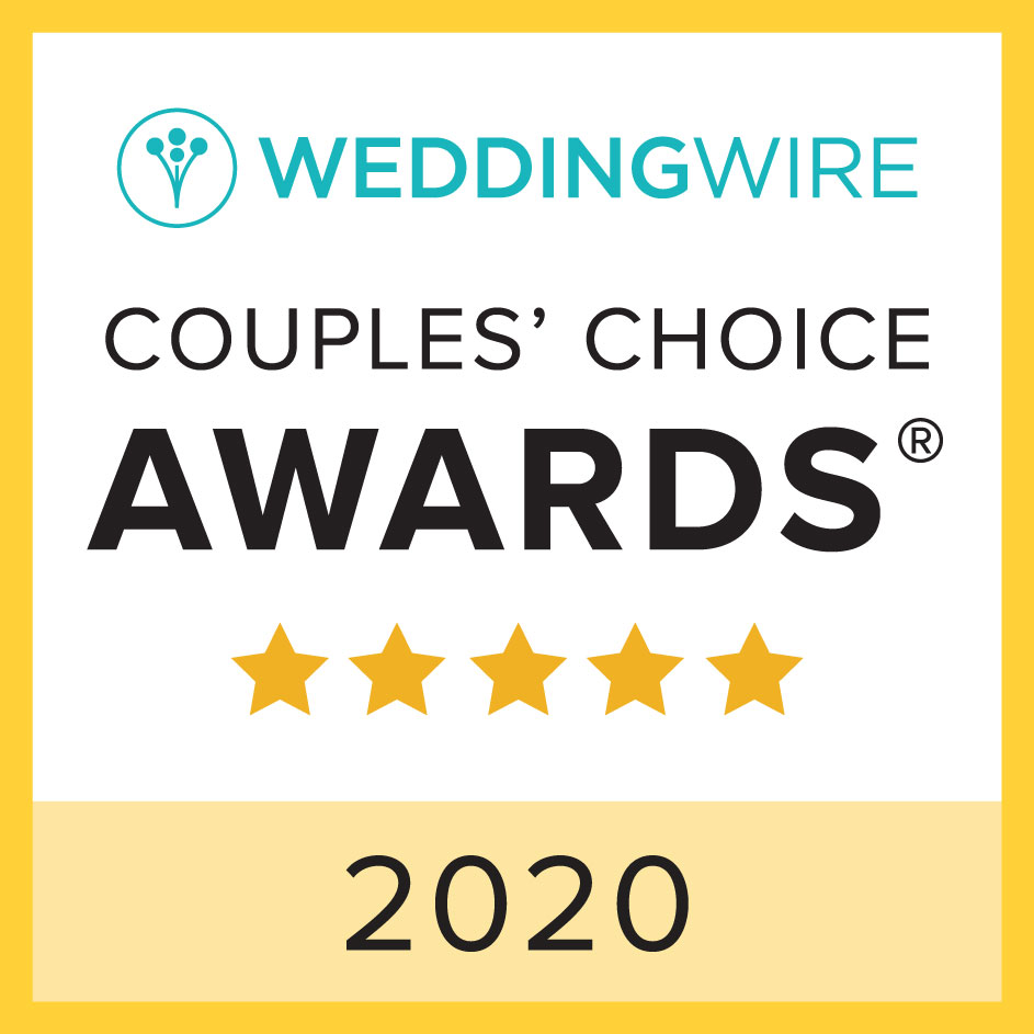 weddingwire award winner