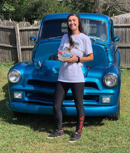 1st Place – 1954 Chevy Pickup shown by Kaila Plumb