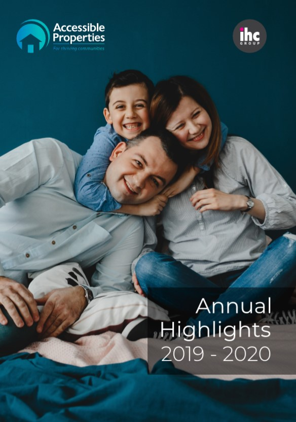 Annual highlights cover