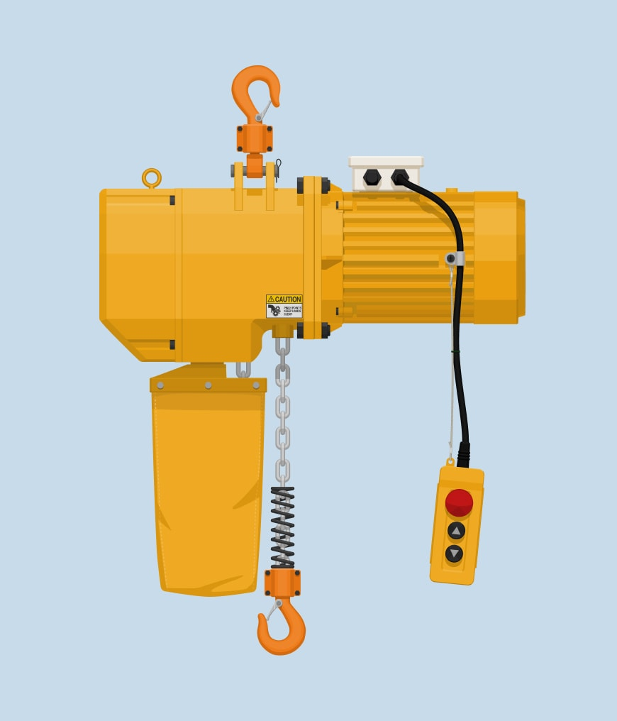 Hoist course training example