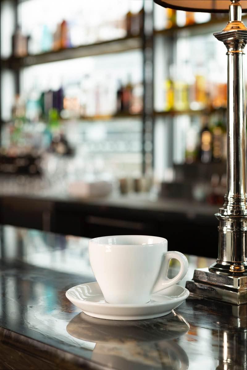 Kaffeetasse und Untertasse ausleihen