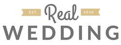real wedding logo
