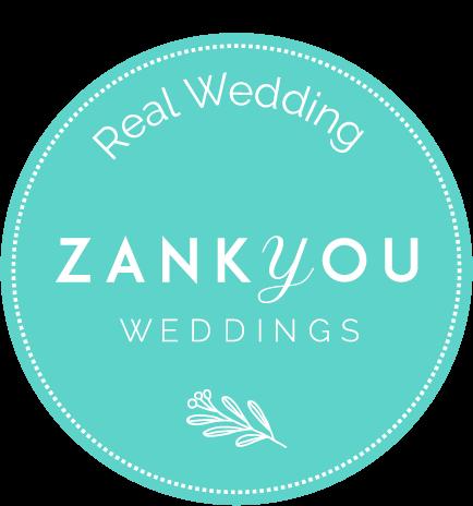 real wedding zankyou weddings logo