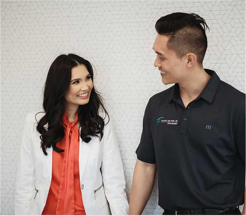 Photo of Dr. Howard Chu and Dr. Christine Chu
