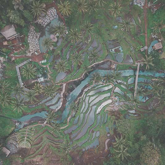 Foto Bali von oben