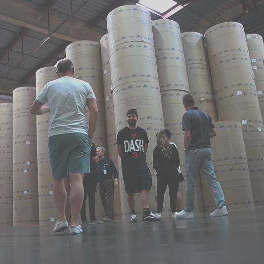 Foto Besuch bei der LA Times beim Super StartUp Adventure Camp Los Angeles