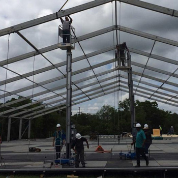Tent Structure Installation