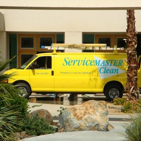 service master van