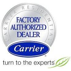 Dave's Heat and Air are a Carrier Factory Authorized Dealer