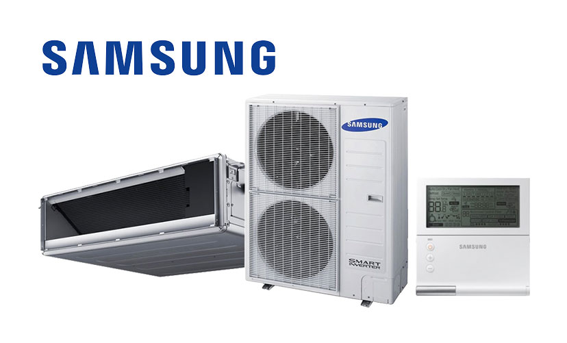 A Samsung Air Conditioning set