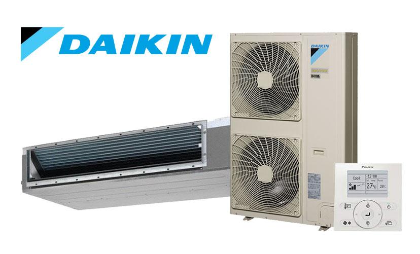 A Daikin air conditioning set
