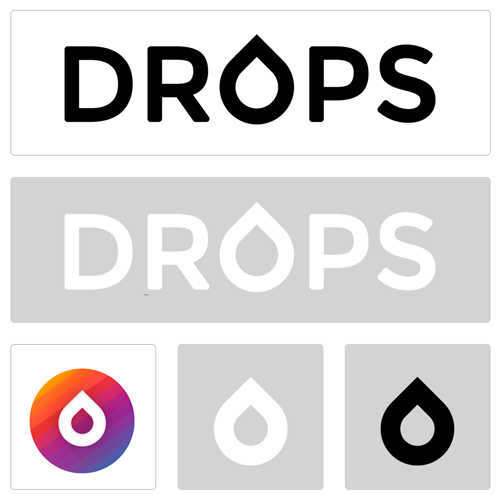 Drops brand style guide