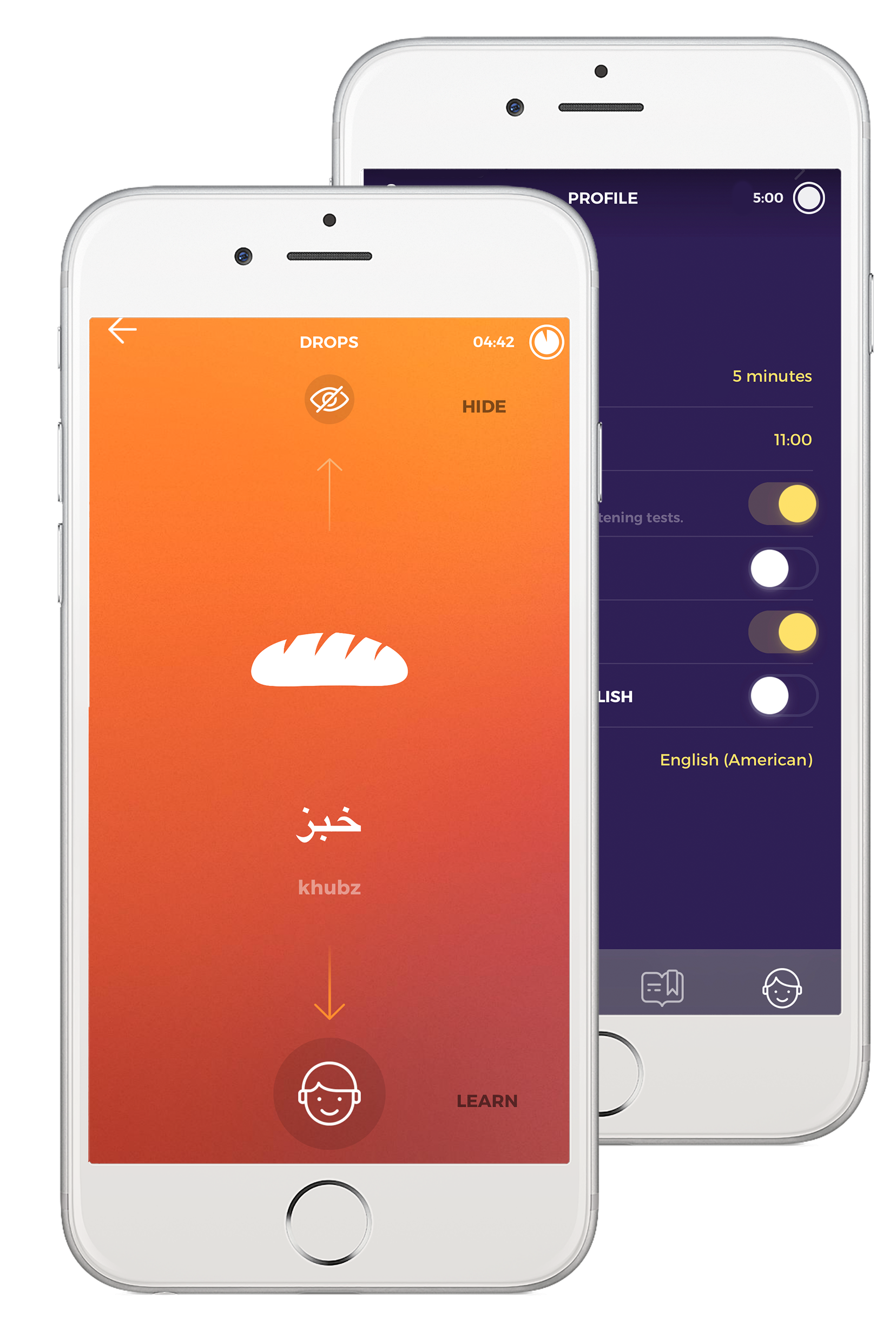 Learn Arabic with Drops