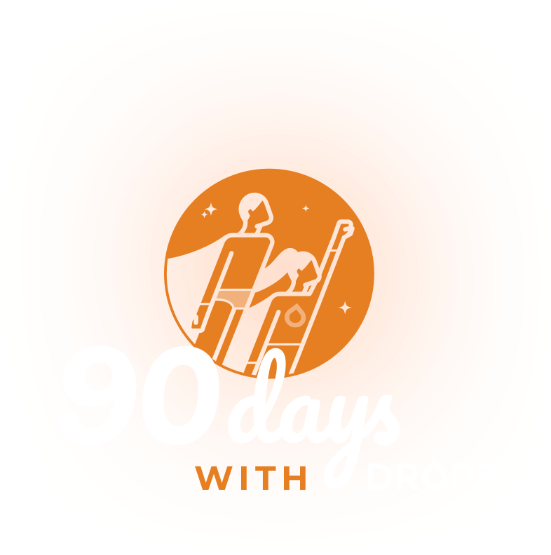 90 Days with Drops - #90DayswithDrops