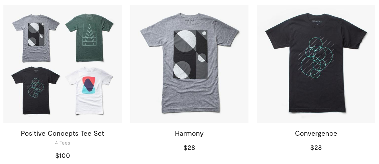 ugmonk t-shirts