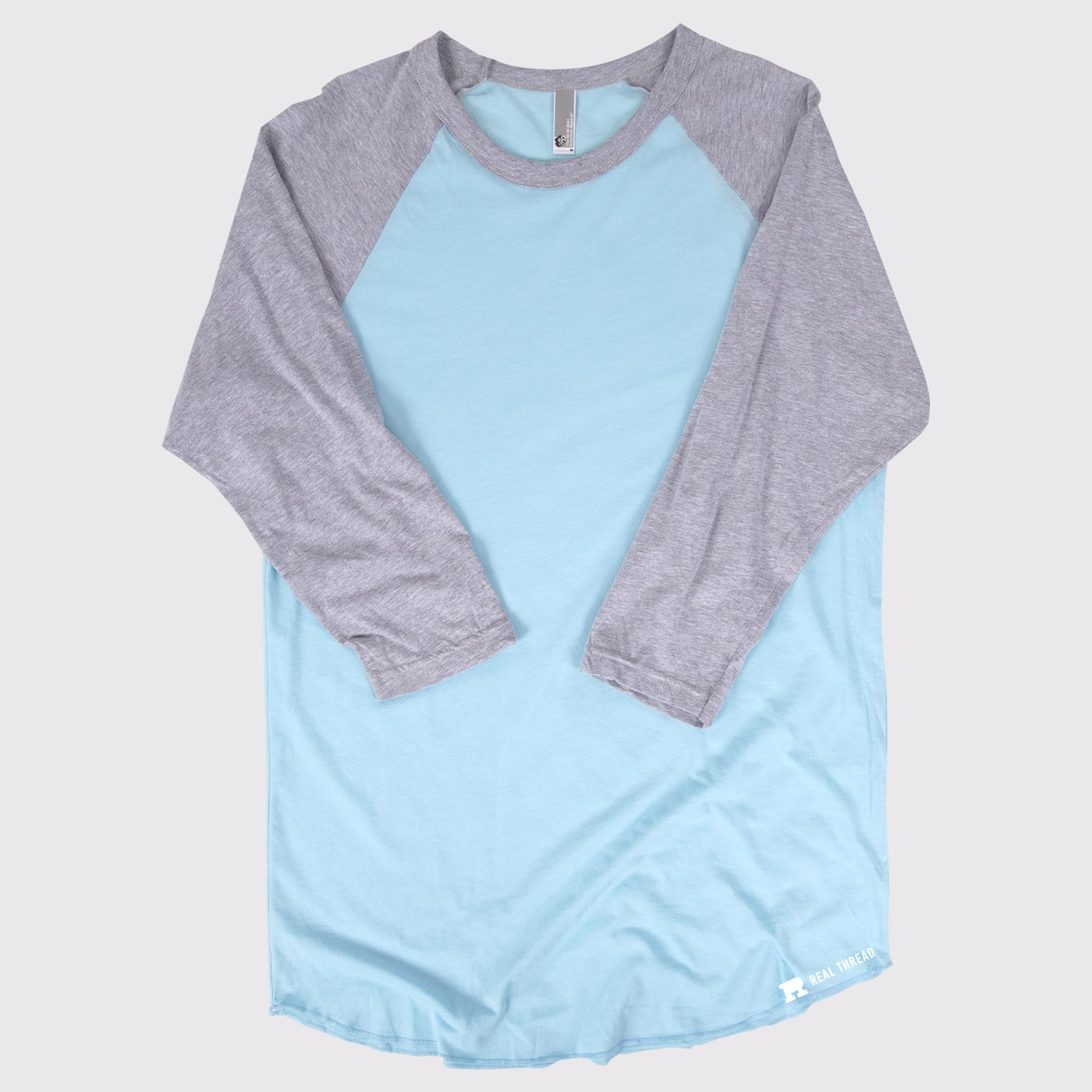 American Apparel BB453 Raglan Template Flat