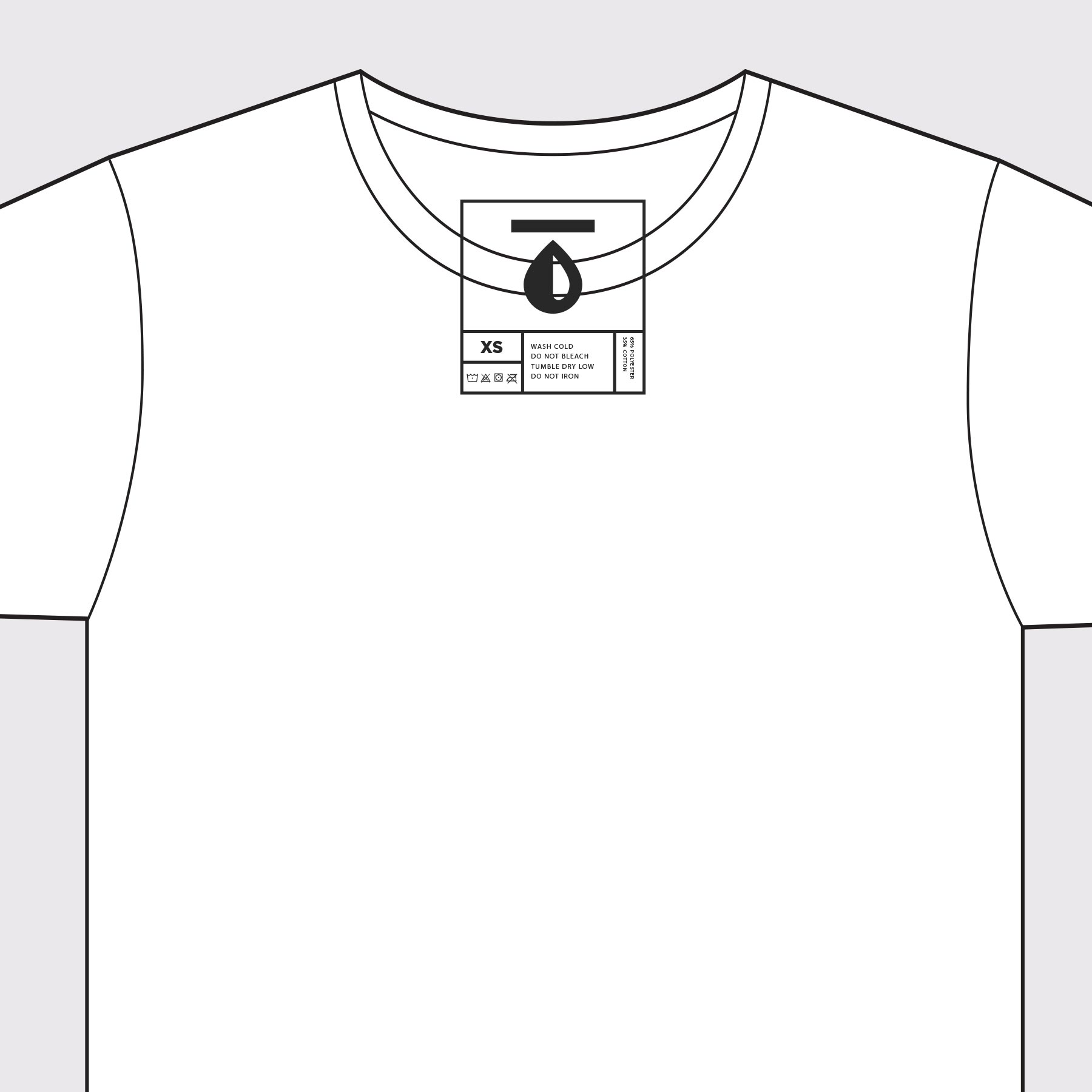 image about Printable T Shirt Templates named No cost T-Blouse Templates Materials Genuine Thread