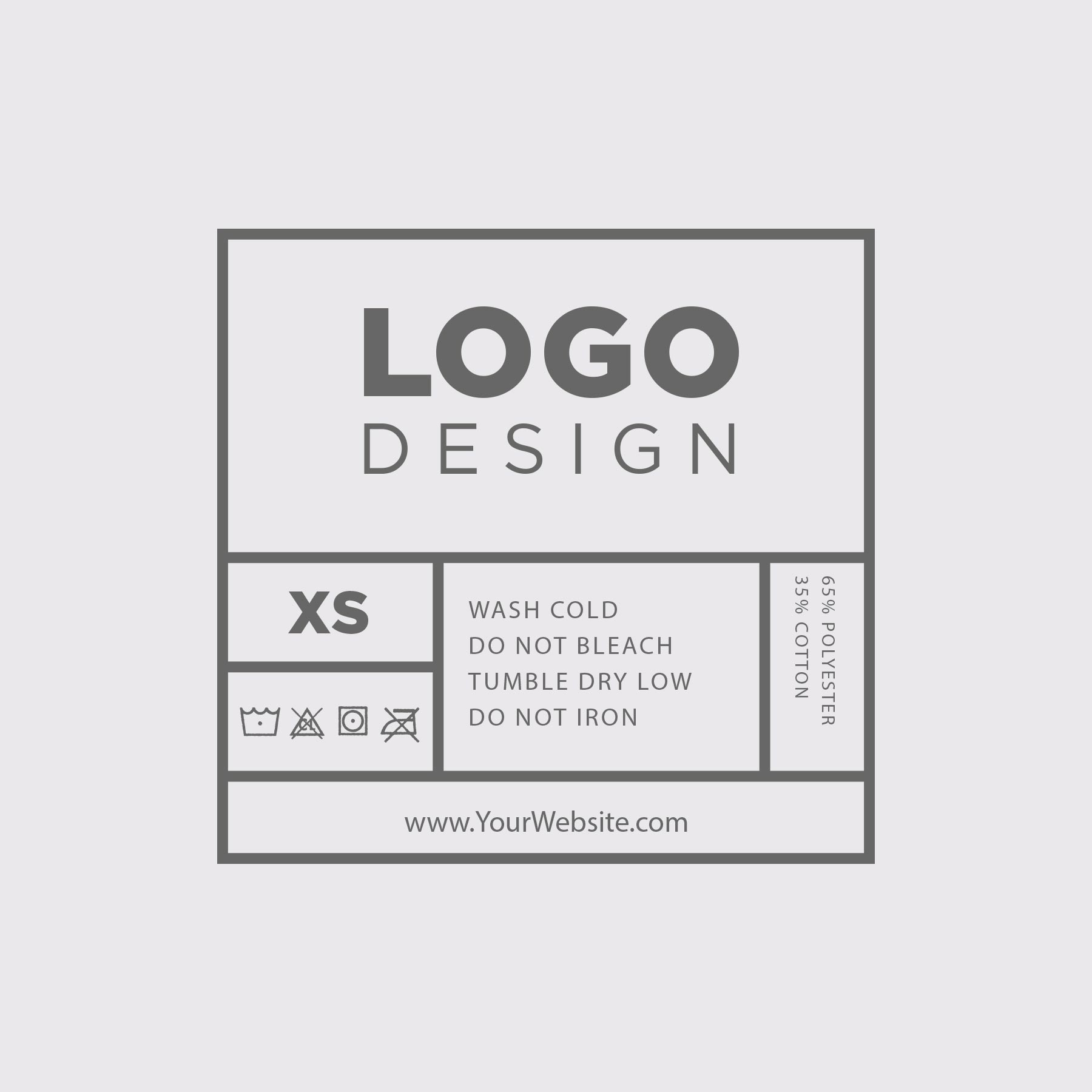 This is a graphic of Geeky T Shirt Label Vector