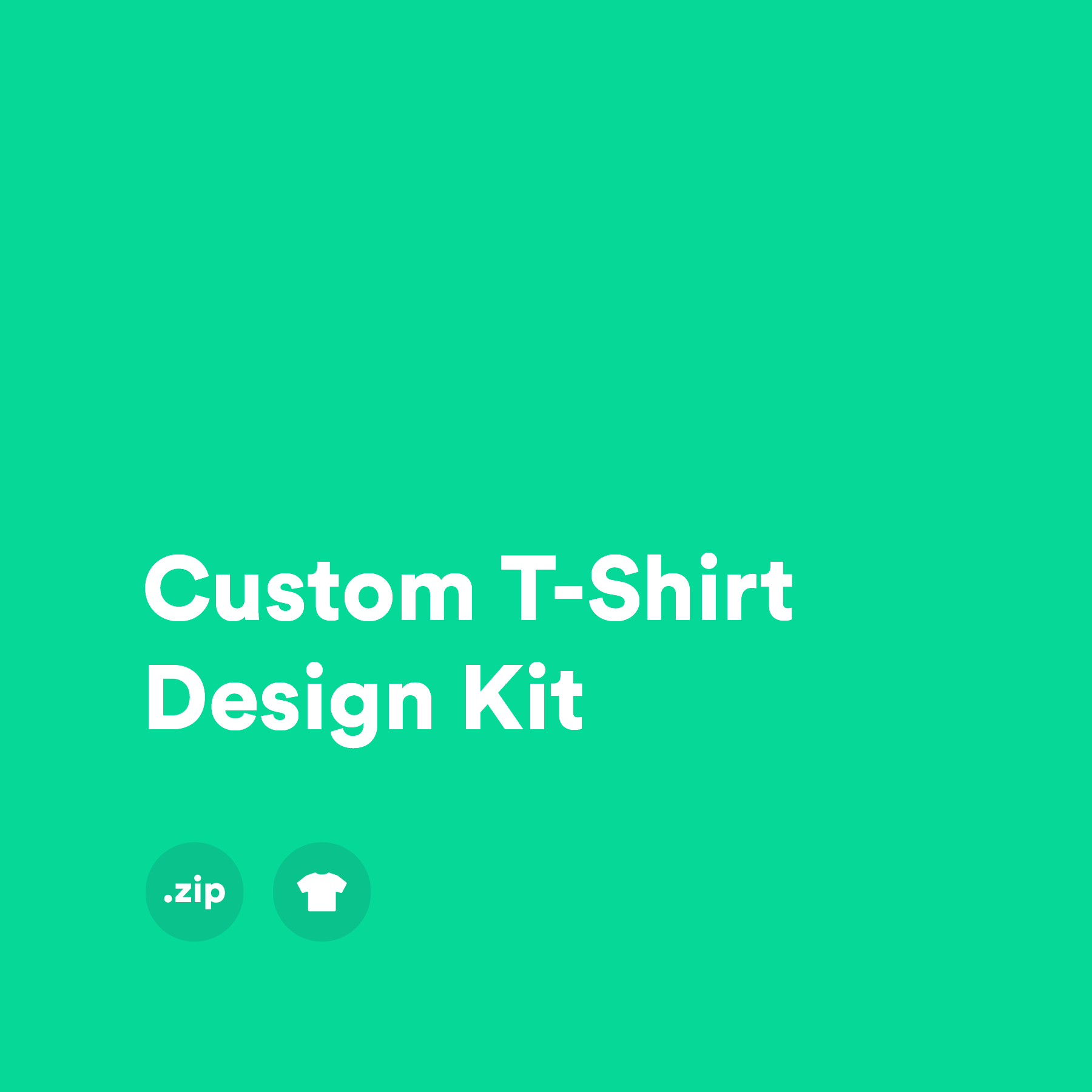 Custom T-Shirt Design Kit