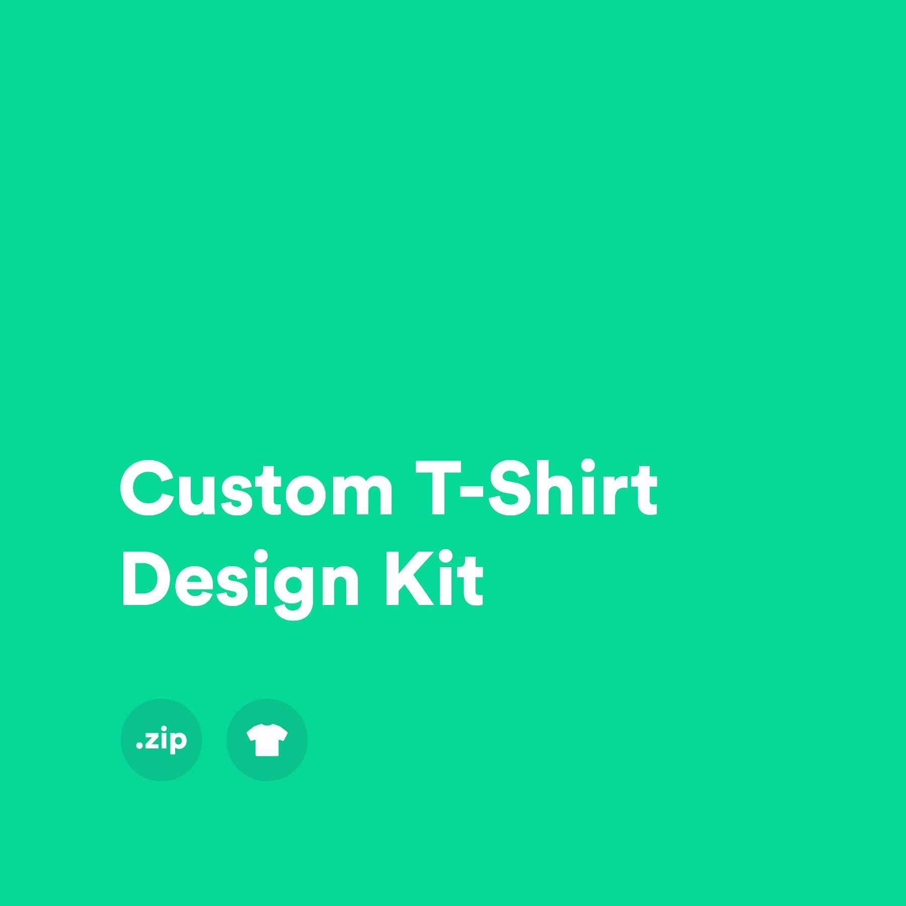 Custom T-shirt Design Kit